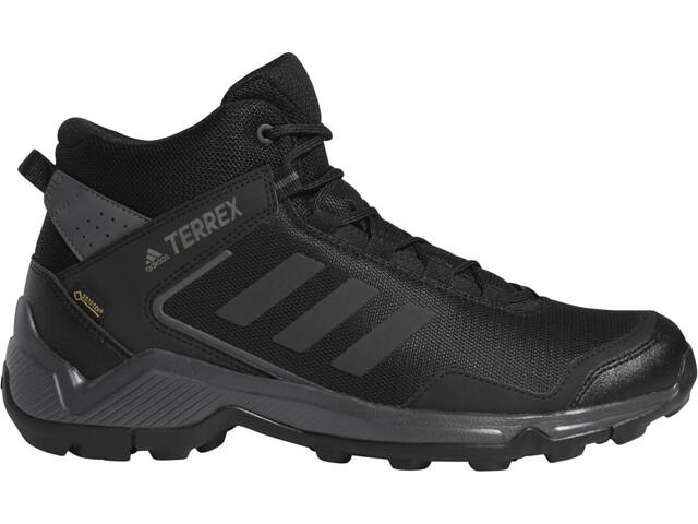 adidas TERREX Eastrail Mid Gore-Tex Zapatillas Senderismo Hombre, carbon/core black/grey five